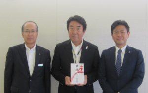渋沢テクノ建設贈呈式